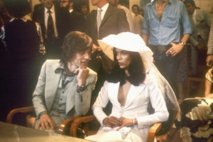 The Rolling Stones' singer Mick Jagger from United