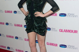 Celebrities Arrive At The Glamour Awards 2010